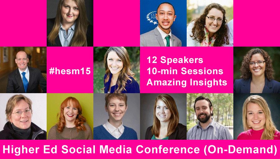 12 surprising social media ideas from Higher Ed Social Media Conference