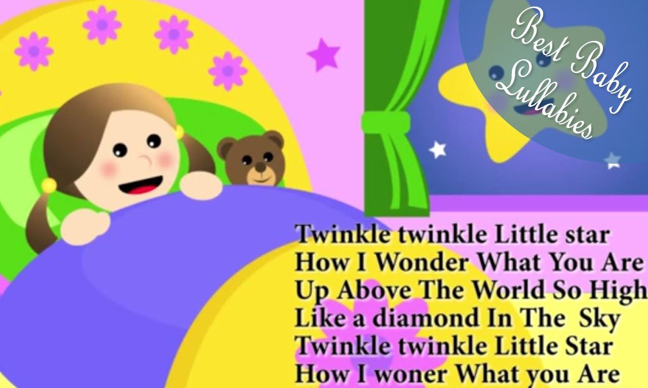 Le Little Star Songs Music Lyrics Sing Nursery Rhymes Lullaby To