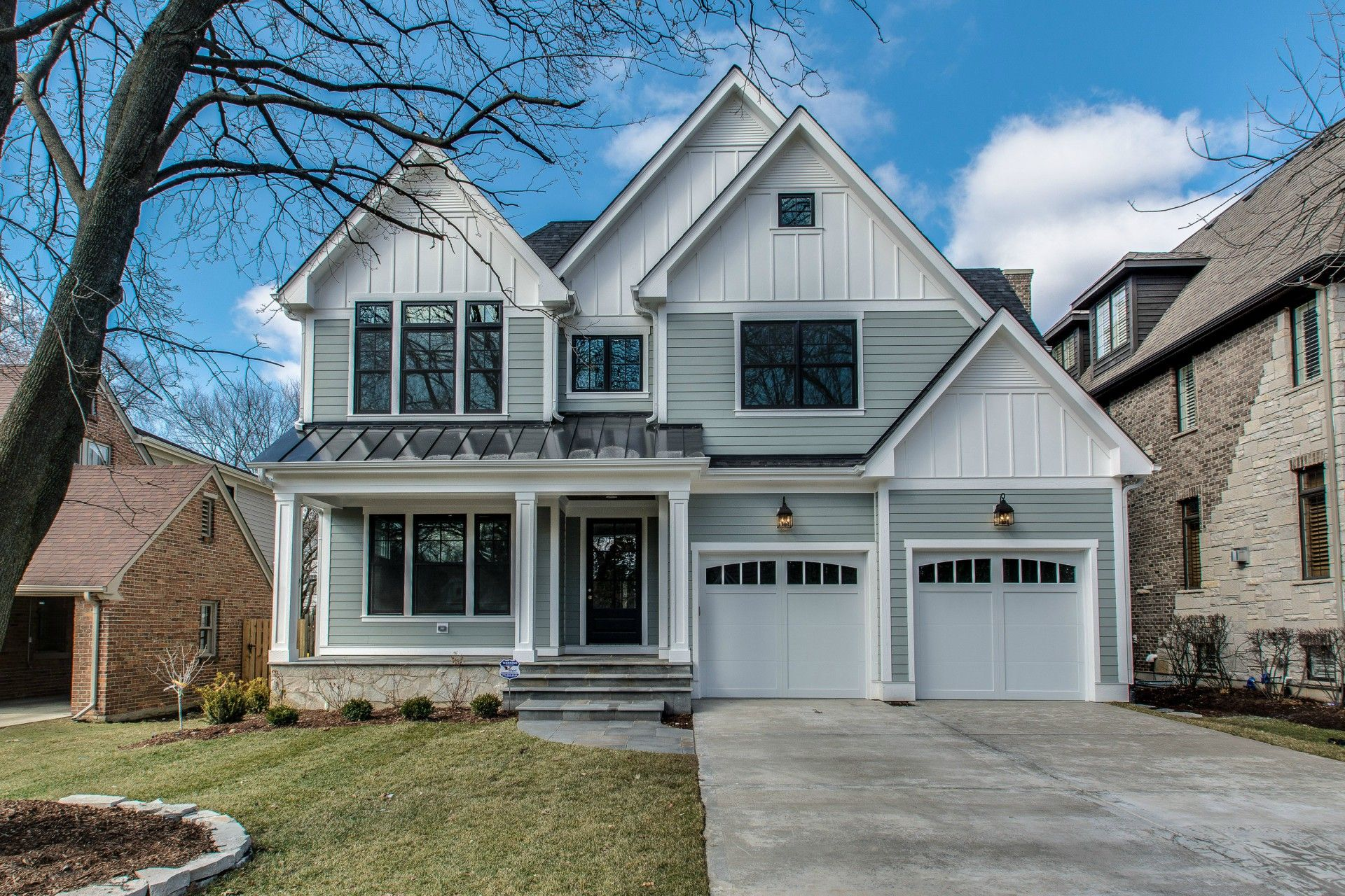 custom home exteriors chicago naperville hinsdale home exteriors