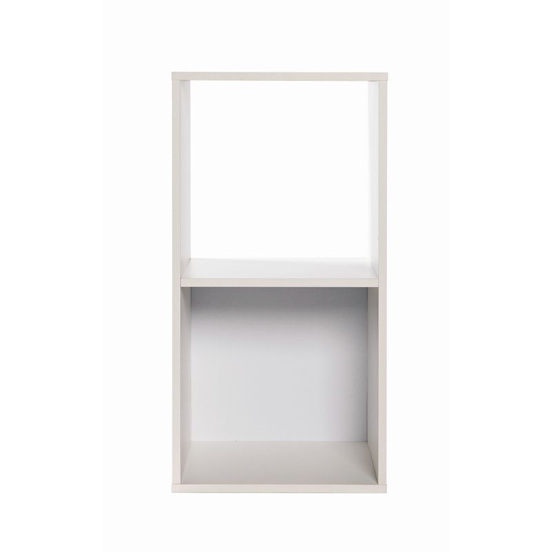 Find Clever Cube Compact 1 x 2 White Storage Unit at Bunnings ...