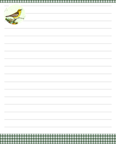Printable Stationary