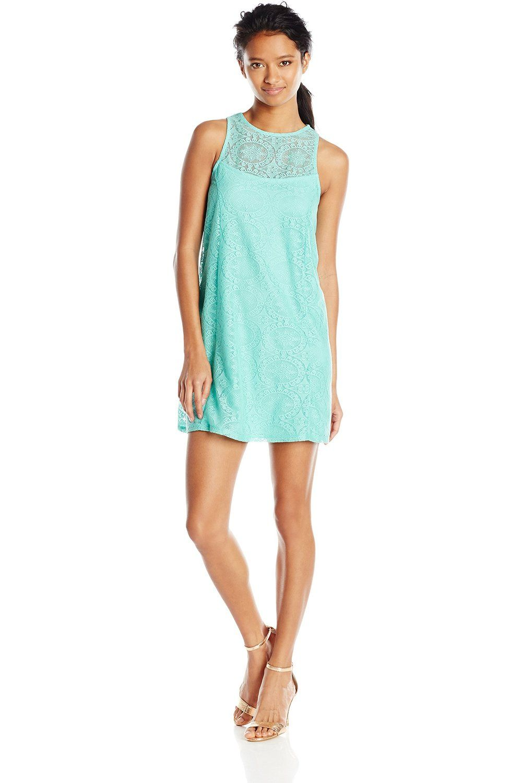 2da666c97df Speechless Junior s Lace A-Line Tank DressSummer outfits Teen fashion Cute  Dress! Clothes Casual