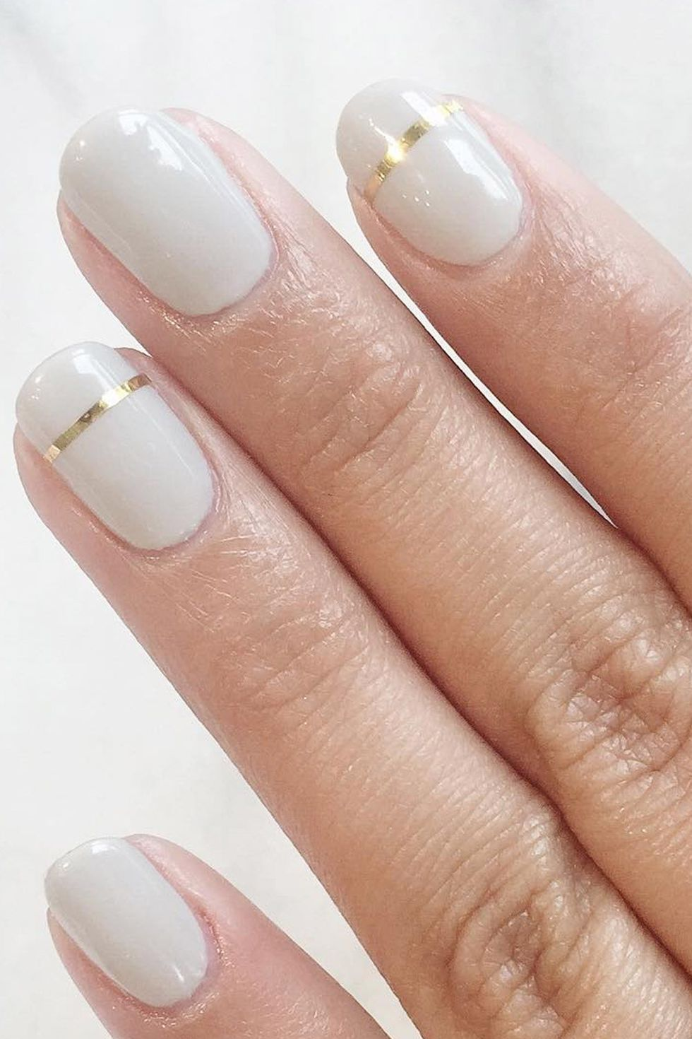 9 Gilded Manicures That Your Fancy Little Nails Deserve