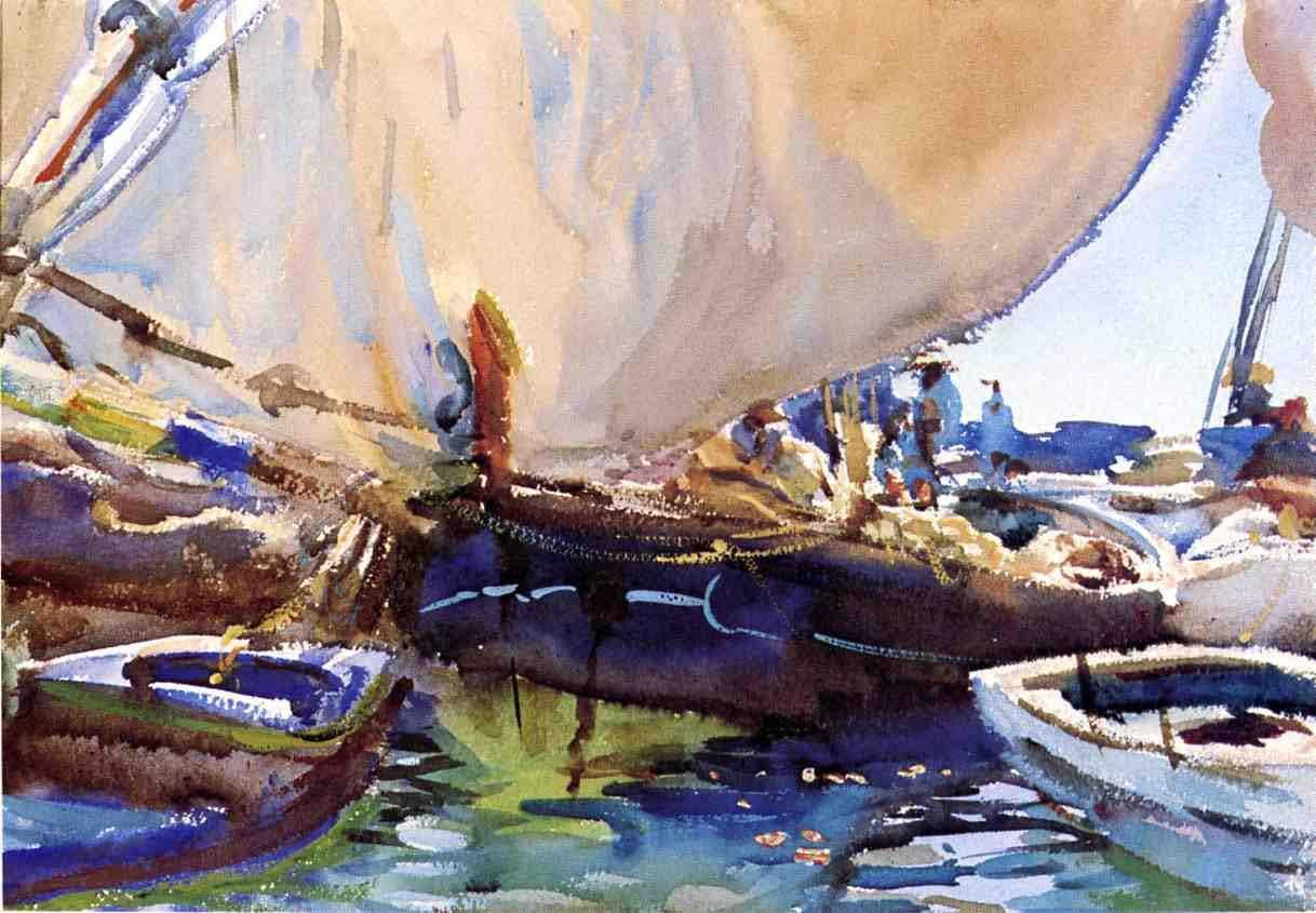 I have been giving a number of watercolour workshops this summer as well as my weekly class. During these we have revisited the work of John...