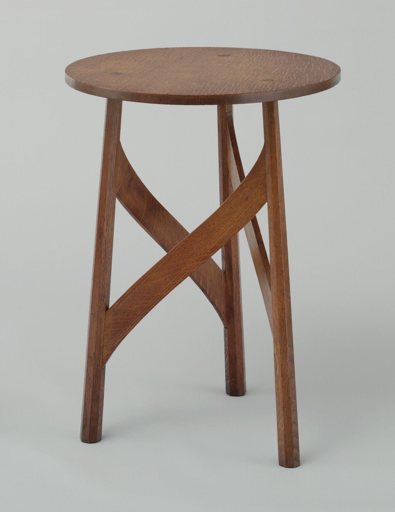 Mackay Hugh Baillie Scott Side Table C 1901 England With