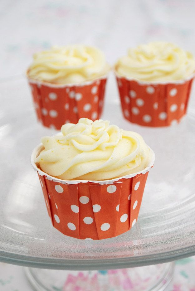 Creamsicle Cupcakes | 27 Foods That Secretly Want To Be Creamsicles