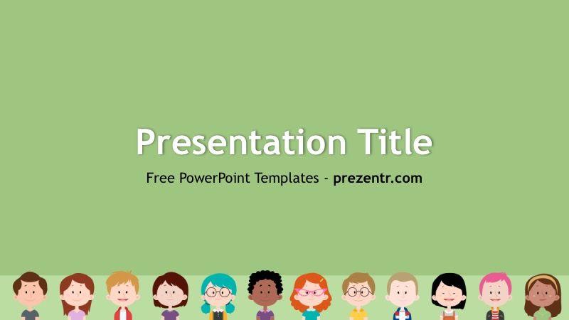 free kids powerpoint template prezentr ppt templates powerpoint