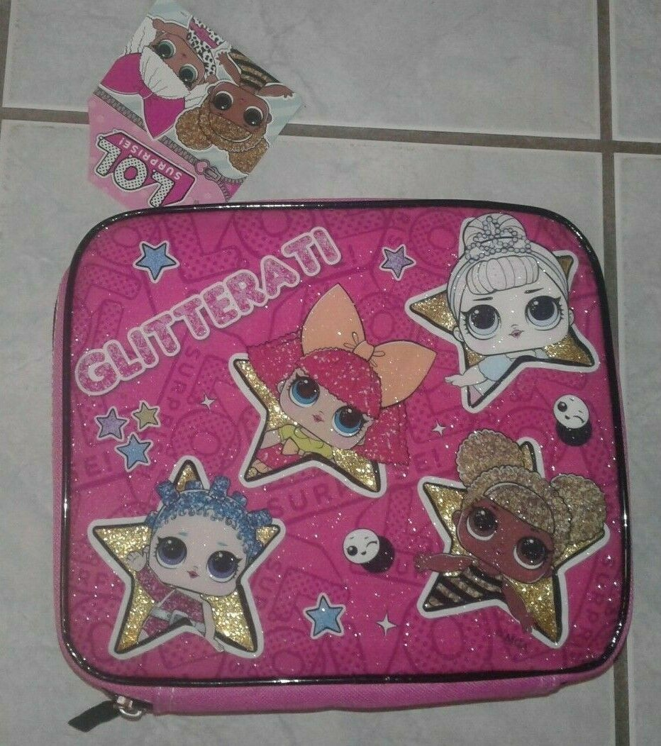 Lunch Bag L.O.L Surprise with Friends LOL NEW Pink Insulated