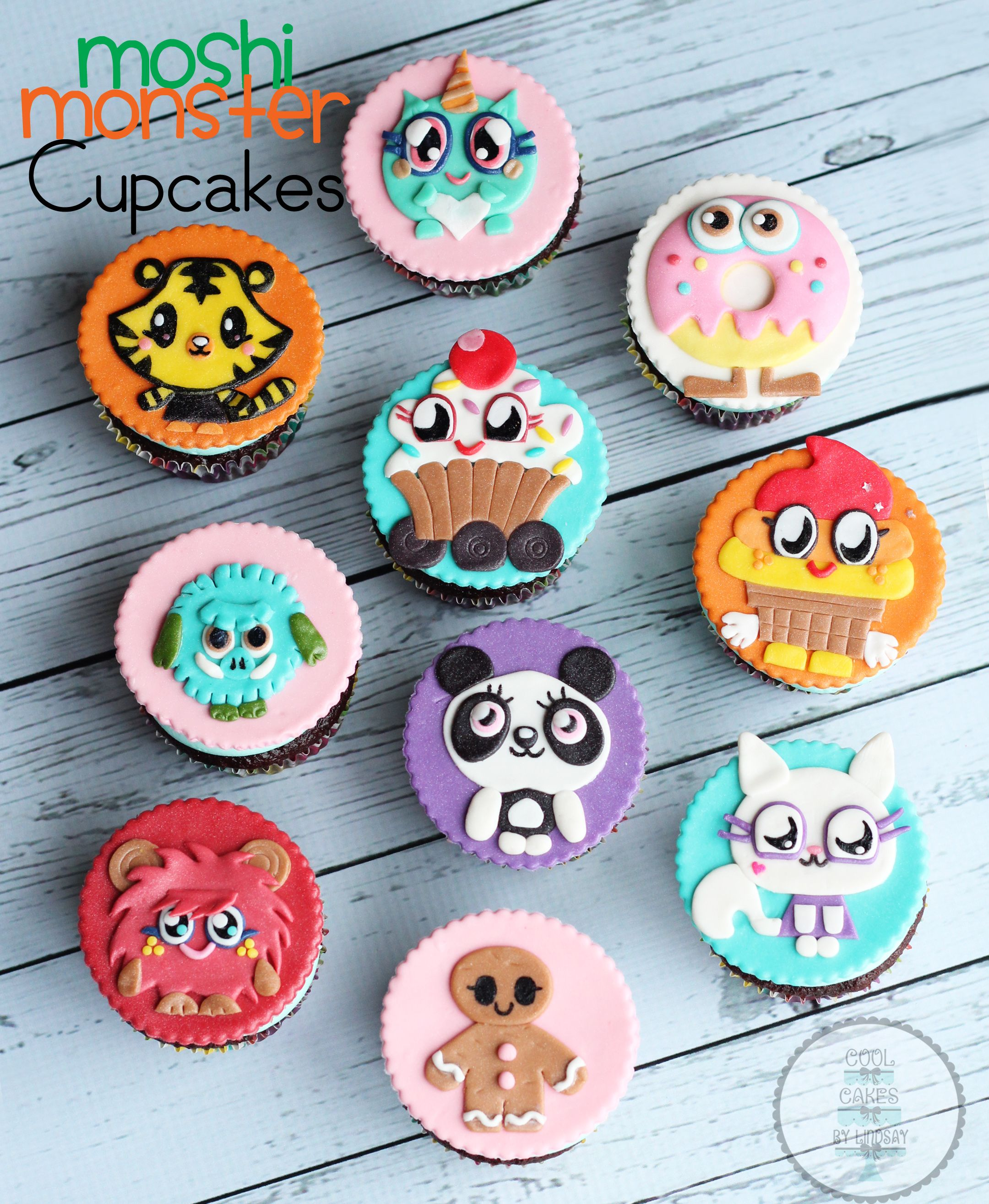 Moshi Monster Cupcakes!!!
