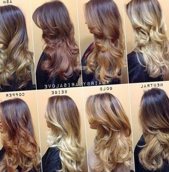 New hair colouring techniques - http://new-hairstyle.ru/new-hair ...