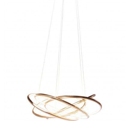 Lampara Saturn Led Copper Grande By Kare Design Pendant Lamp Lamp Lamp Design