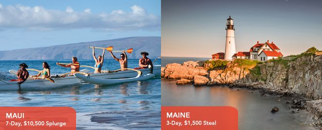 Adelman Vacations - Splurge in Maui or save in Maine? http://whtc.co/8kpk