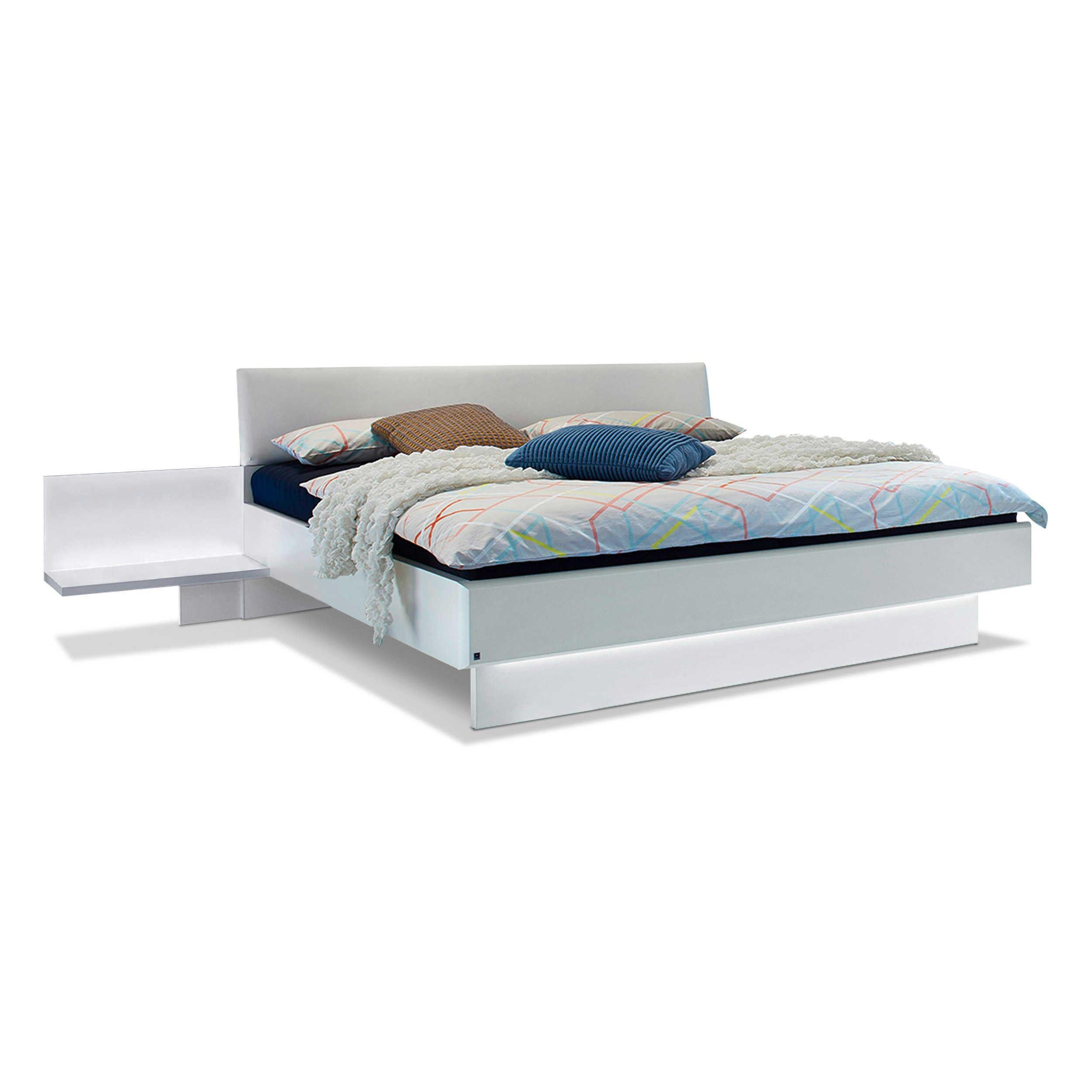 Leonardo Living Bett Mit Nachttischen Dream 160 X 200 Cm A Weiss