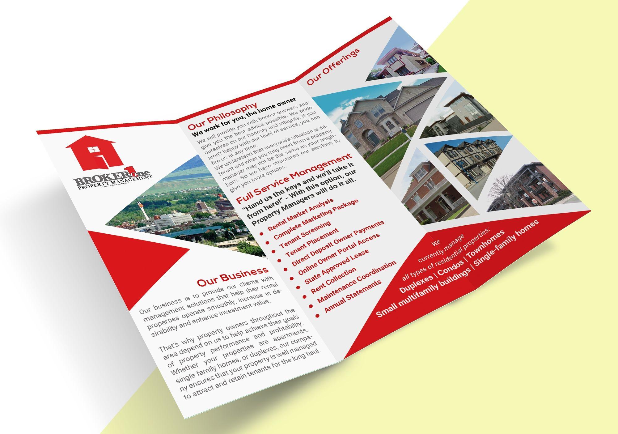 Designs Real Estate Company Needs Eye Catching Property Management Pamphlets Postcard Flyer Or Print C Property Management Real Estate Companies Postcard