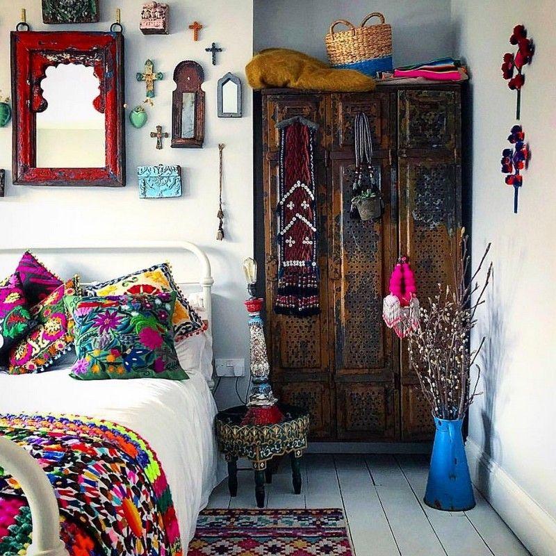 Bohemian chic teenage girls bedrooms — pic 12