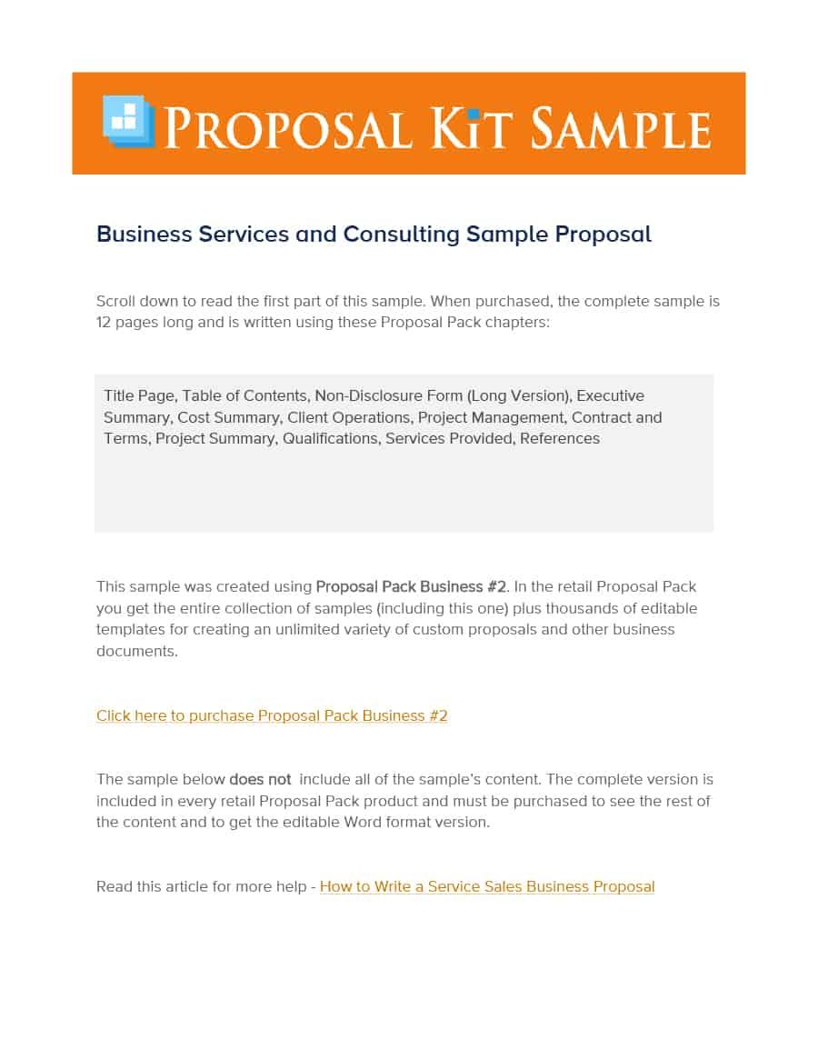39 Best Consulting Proposal Templates [Free] ᐅ Template