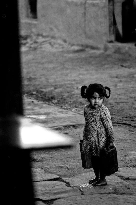 Enfant Du Village De Khare, photographie de Rmi Bridot