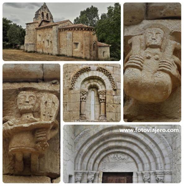 Iglesia románica de San Miguel de Cornezuelo - Valle de Manzanedo, provincia de…
