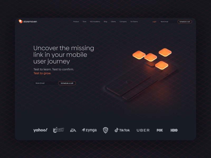 Storemaven S Website By Studio More In 2020 Web App Design Interactive Design Web Design