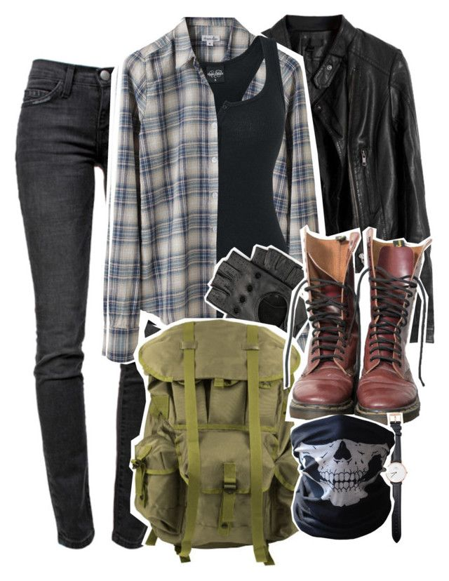 """Sin título #187"" by herllequin ❤ liked on Polyvore featuring Current/Elliott, Steven Alan, Dr. Martens, Daniel Wellington and BUFF"