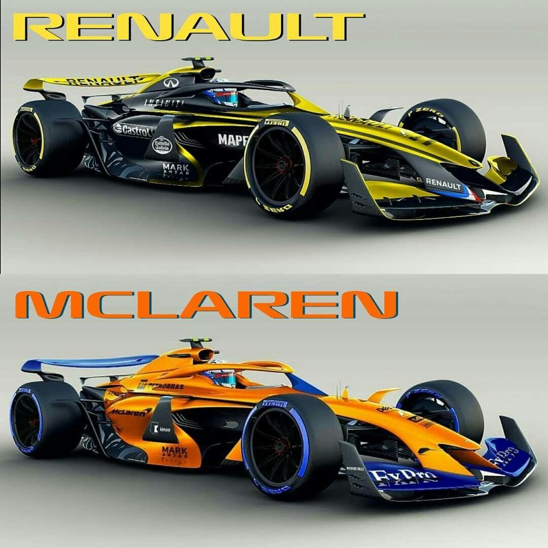 F1 2021 Autos