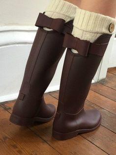 Bow Rain Boots   sassyshortcake.com