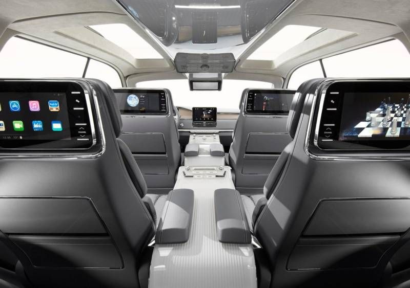 2017 Lincoln Navigator Interior With Screens Lincolnnavigator