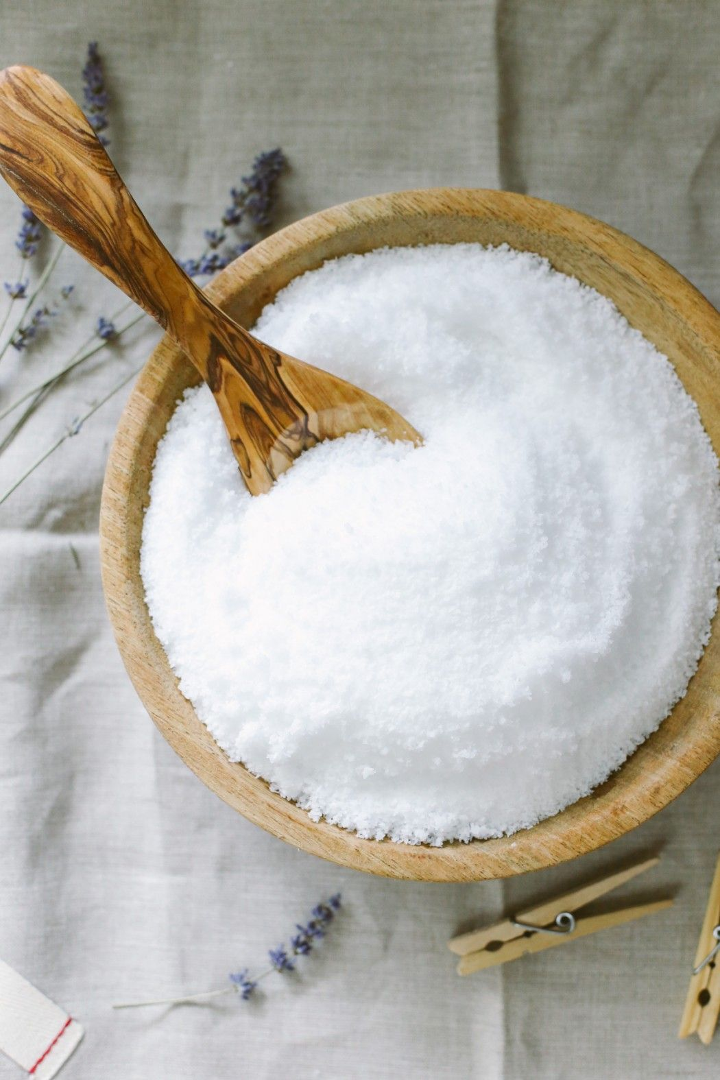 A twoingredient homemade fabric softener and scent