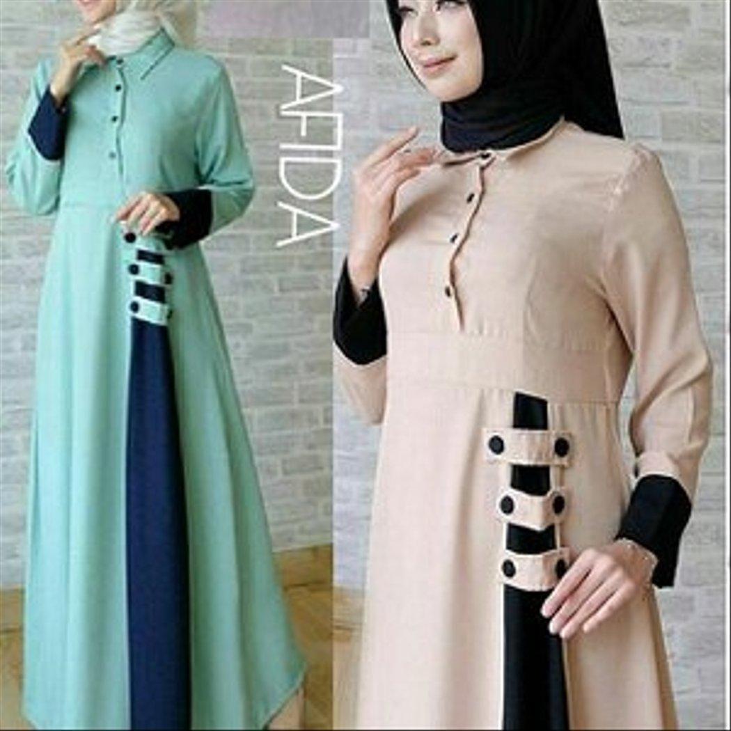 Model Gamis Tunika Terbaru  Model, Baju muslim, Wanita