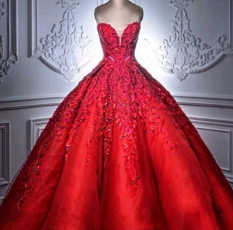 Vestidos Para Quince Años De Princesa Rojos Vestidos De Xv