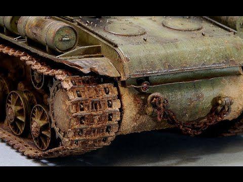 Painting Weathering Scale Model Tank Tracks Russian Wwii Hd Youtube Model Tanks Tamiya Models Model Cars Kits