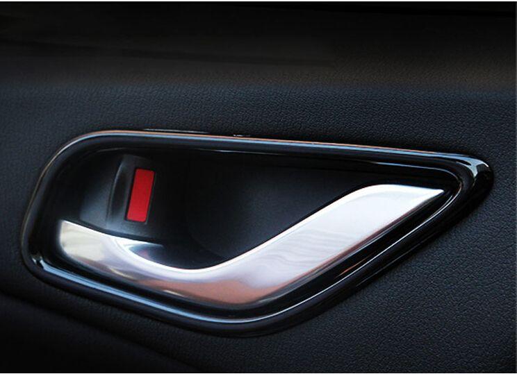 Piano Paint Car Interior Door Handle Trim Bowel Cover Trims