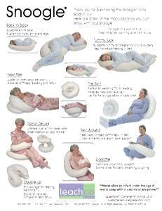 Snoogle Pillow Just Got Mine A Few Weeks Ago Seriously