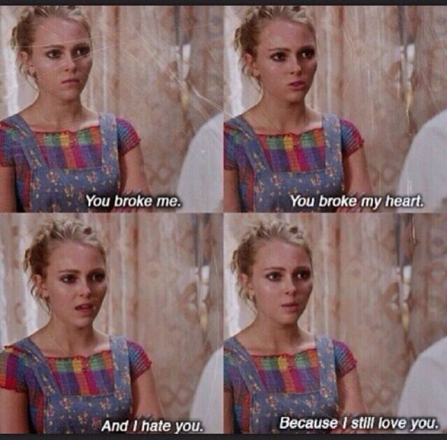 You Broke Me The Carrie Diaries I Still Love You Carry On