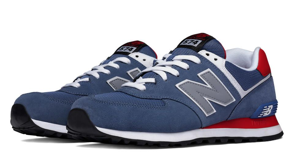 closer at closer at incredible prices 574 New Balance, Crater with Red & Light Grey | Men's ...