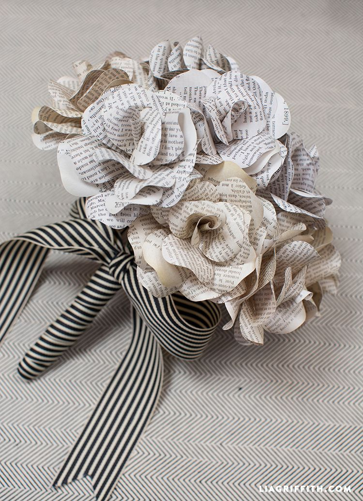 Diy Bouquet Fake Flowers Wedding