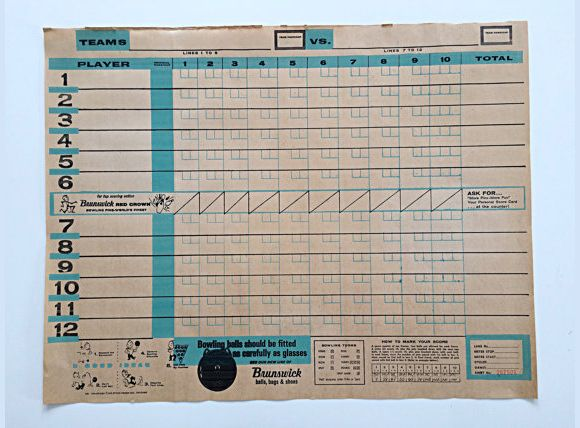 bowling score cards - Google Search H\C Pinterest Bowling - bowling score sheet template