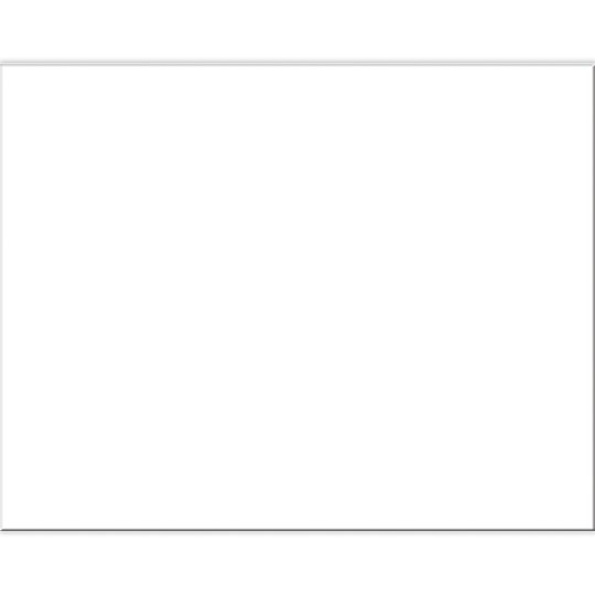 Pacon White Railroad Poster Board 22 X 28 Pack Of 100 White Headboard Boards How To Plan
