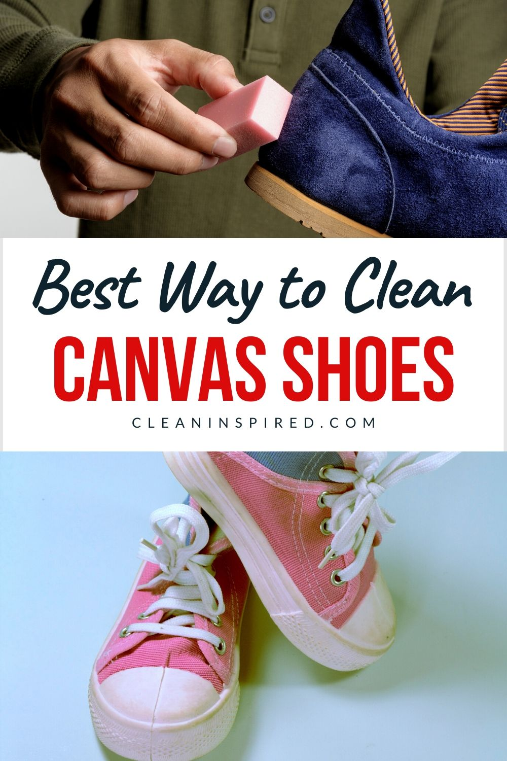 Best ways to clean your canvas shoes in 2020 clean