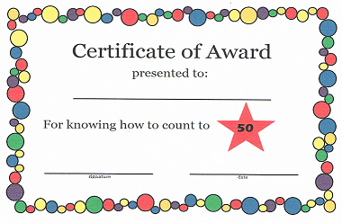 looking for simple kids awards and certificates this is a great