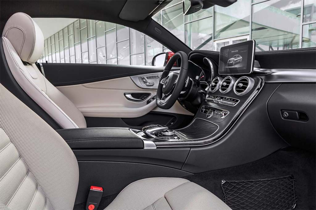 2017 Mercedes C Coupe Interior With Images Mercedes C Class