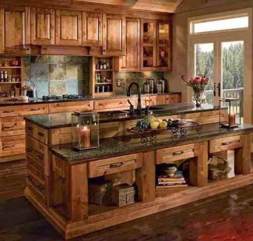 Isla Cocina De Campo Buscar Con Google Decoración De Cocina Decoracion De Cocinas Rusticas Diseño De Cocina