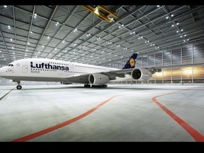 A380-800-Lufthansa HD Wallpaper - Airliners Wallpapers