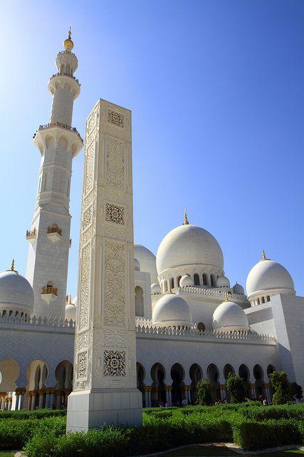 مسجد الشيخ زايد Sheikh Zayed Mosque Abu Dhabi United Arab Emirates Sheikh Zayed Grand Mosque