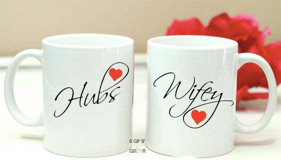 S Coffee Mugs Valentines Day Personalized Wedding