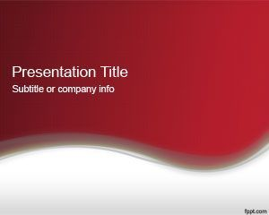 Abstract Red Powerpoint Template 2013 Powerpoint Themes