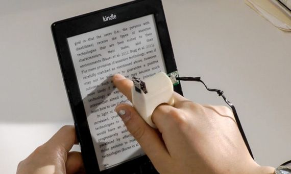 5 Examples Of Technology For The Blind Beyond Braille Openmind Indoor Positioning System Technology Wearable Tech