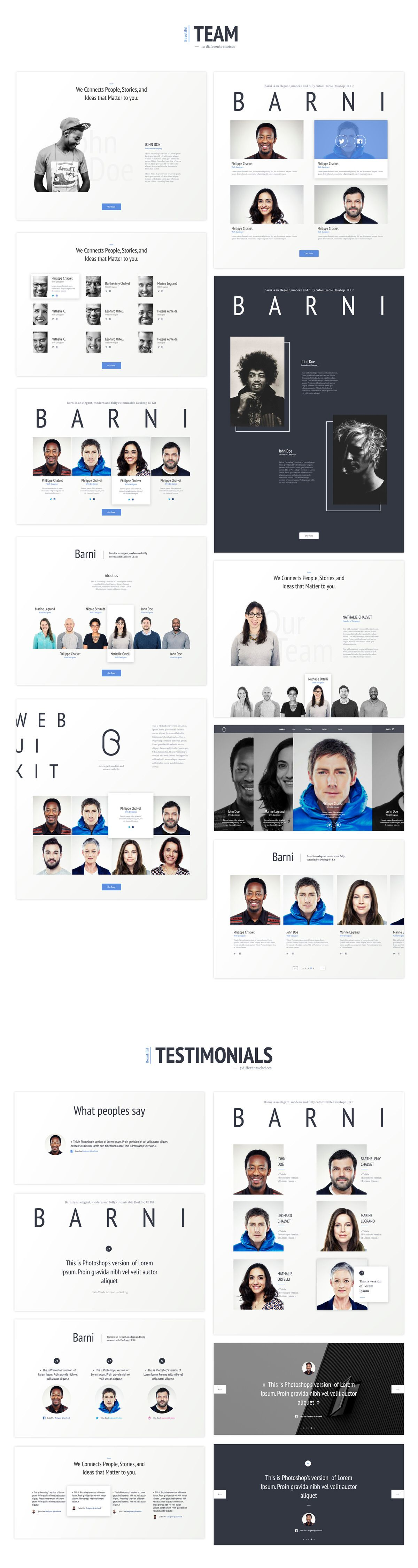 Barni-for-Startup by AgenceMe on Creative Market ...
