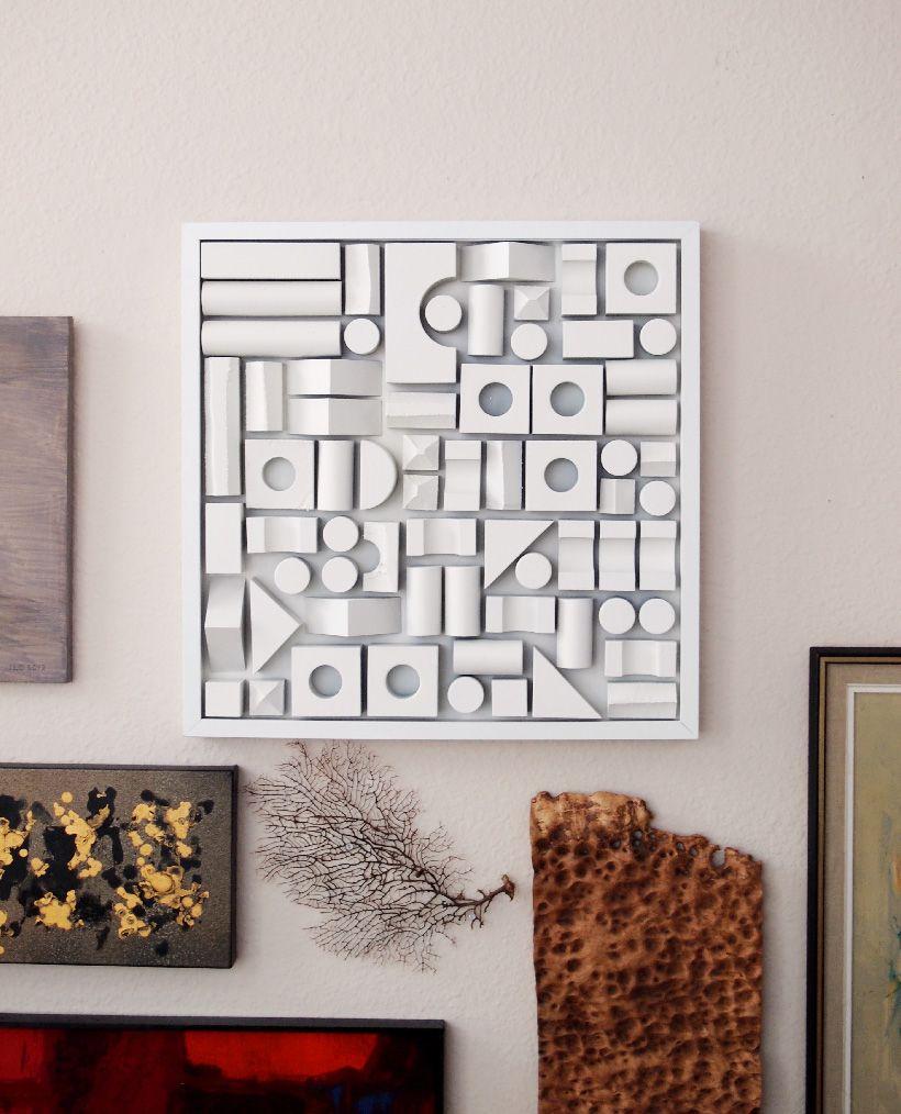 Diy foam building block artwork building artwork and diy art diy foam building block artwork amipublicfo Images