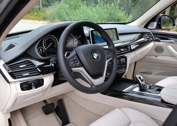 New Bmw X5 Interior 600x429 2014 Bmw X5 Specification Details